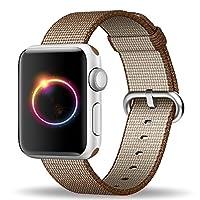 maping&regスマートウォッチ高品質織ナイロンストラップfor Apple Watch Band 38mm Series 2 Series 1 [並行輸入品]