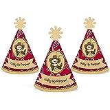 小さなカウボーイ – Mini円錐ベビーシャワーまたは誕生日パーティー帽子 – スモールLittle Party Hats – 10のセット