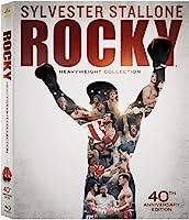 Rocky Heavyweight Collection(Rocky / Rocky II / Rocky III / Rocky IV / Rocky V / Rocky Balboa)( 40th Anniversary Edition) [Blu-ray]