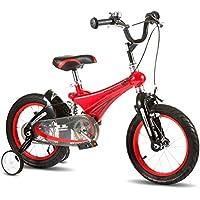 YANFEI 子ども用自転車 キッズバイクすべての地形の男の子のバイク活気のある子供の自転車スタビライザートレーニングの車輪と括弧 子供用ギフト