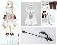 コスプレ衣装 +靴下*手袋付+髪飾り +靴+ウィッグ+武器 Fate/Grand Order★女王メイヴ☆(女S)