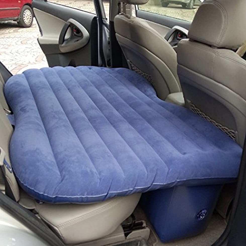 高齢者ほこり憂慮すべきCheesea Travel Car/SUV Back Seat Sleep Rest Inflatable Mattress Air Bed Car Bed with Air Pump 141[並行輸入]