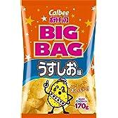 カルビー ポテトチップス ビッグバック うすしお味 170g × 12袋