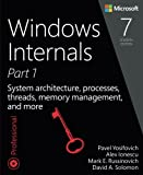 Windows Internals, Book 1: User Mode (Developer Reference)