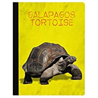 Tree-Free Greetings Galapagos Tortoise Soft Cover 140 Page Recomposition College Ruled Notebook 9.75 x 7.25 (CJ48304) [並行輸入品]