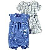 カーターズ Carter's ワンピース & ロンパース 2点セット 2-Piece Dress & Romper Set 3M (55-61cm) [並行輸入品]