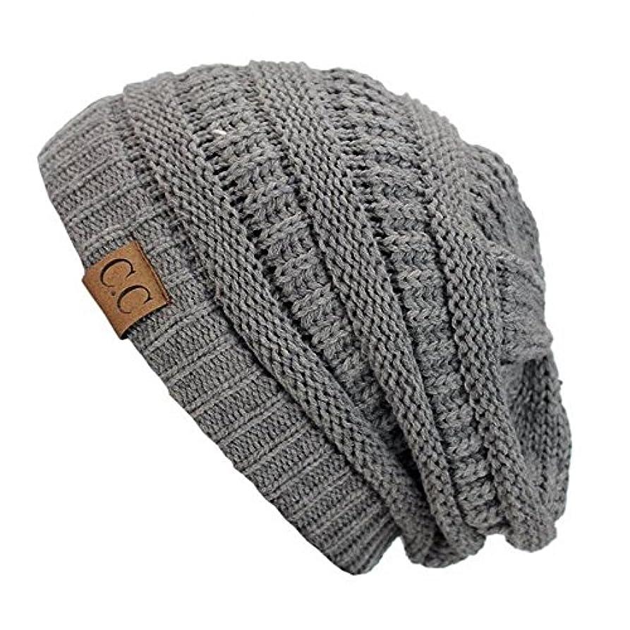 作家排出に応じてlg24 _ ( US Seller )新しいファッションレディースメンズ暖かい帽子冬キャップ