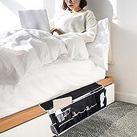 Ovcome ミニ収納袋 ベッド サイド ポケット 12個ポケット 収納袋 高品質 オックスフォード布袋 備品袋 ベッド掛け袋 ソファー掛け袋
