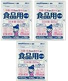 【3袋セット】(80枚×3袋で合計240枚)食品用ポリ袋 80枚 冷蔵・冷凍から湯せんまで (3)