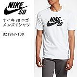 NIKE Tシャツ NIKE SB(ナイキSB) NIKE SB Tシャツ ナイキ SB ロゴ ホワイト ホワイト ブラック 821947-100 ナイキSB Tシャツ