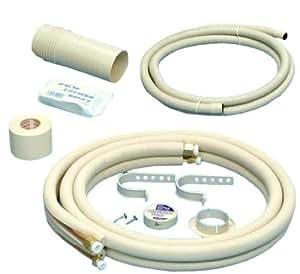 奥村金属 エアコン用配管セット 【2分×3分】 フレア加工済み 3m D-233