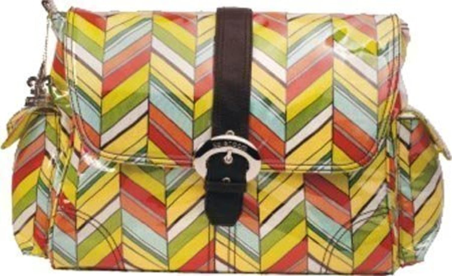 Kalencom Laminated Buckle Bag, Rainforest by Kalencom [並行輸入品]
