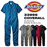 【アウトレット】ディッキーズ 半袖 カバーオール つなぎ SHORT SLEEVE COVERALLS 「33999」 色:BLUE サイズ:L