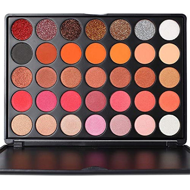 パターンに変わるハッピー35色アイシャドウパレット美容メイクシマーマットギフトアイシャドウ化粧品