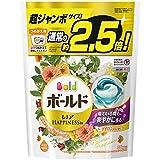 洗濯洗剤 ジェルボール3D 柔軟剤入り ボールド 爽やかナチュラルフラワー 詰め替え 38個(約2.5倍)