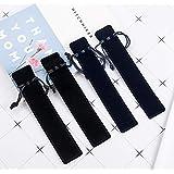 20pcs Velvet Drawstring Pen Pouch Pen Bag/Holder (Black Color)