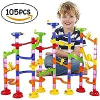 Showloveinスロープおもちゃ 組立式知育おもちゃ 子供想像力と創造力を育てるおもちゃ くるくるボール お誕生日プレゼント女の子男の子