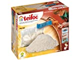 (Cement 1kg) - Teifoc 902 - 1kg bag of extra cement for all Teifoc construction kits - Build with real Bricks & Cement