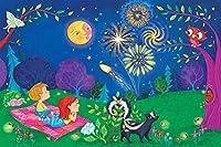 "Marmont Hill vintage-kids '美しいNight 'キャンバス壁アート 36"" x 24"" MH-KIDCUR-122-C-36"