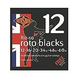 ROTOSOUND ROT-R12-60 Roto Blacks エレキギター弦×3セット