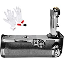 Neewer BG-E20 Replacement Battery Grip for Canon 5D Mark IV Camera, Works with LP-E6 LP-E6N Batteries, Comes with 3-IN-1 Cleaning Kit (Anti-static Gloves, Lens Brush, Microfiber Cleaning Cloth)