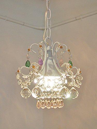 ミニシャンデリア cdl71-b/WHITE 1灯