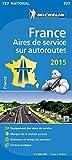 France Aires de services sur autoroutes : 1/1 000 000