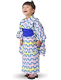 女児 浴衣 3点セット SCANDINAVIAN PATTERN COLLECTION 北欧デザイン