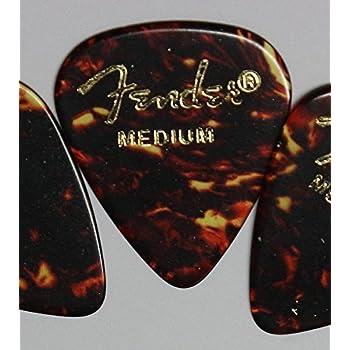 Fender ピック×10枚 ティアドロップ MEDIUM-SHELL