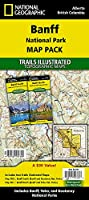 Banff National Park [Map Pack Bundle] (National Geographic Trails Illustrated Topographic Map)