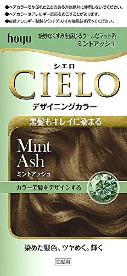 電気的お酢マーキーホーユー シエロ デザイニングカラー (ミントアッシュ)×6個
