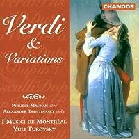 Verdi & Variations by VERDI / PASCULLI / DUPIN (1999-03-23)