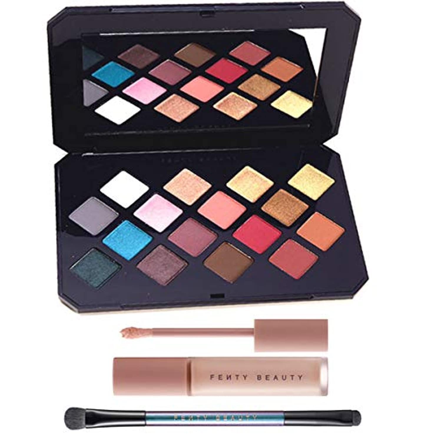 FENTY BEAUTY BY RIHANNA, Moroccan Spice Eyeshadow Palette & Eye Essentials [海外直送品] [並行輸入品]
