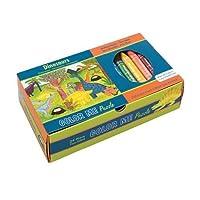 Mudpuppy Dinosaurs Color Me Puzzle [並行輸入品]