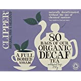 Clipper Organic Decaf Everyday 250 g (Pack of 1, Total 80 Teabags)