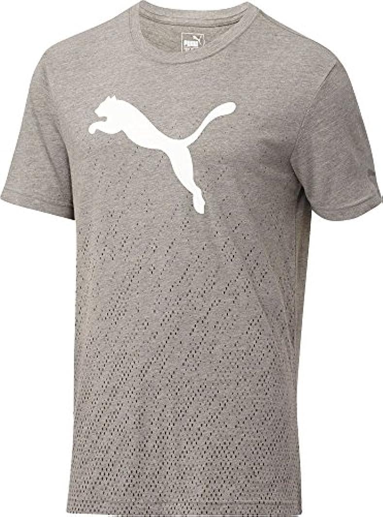 やめるパンコショウプーマ トップス シャツ Puma Men's Rising Reflector T-Shirt MghPumaBla [並行輸入品]