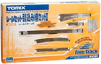 TOMIX Nゲージ レールセット 引き込み線セットII Bパターン 91091 鉄道模型 レールセット