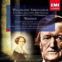 ワーグナー:序曲集(「恋愛禁制」序曲、「リエンツィ」序曲、交響曲ホ長調、「ファウスト」序曲、「ヴェーゼンドンクの歌」)