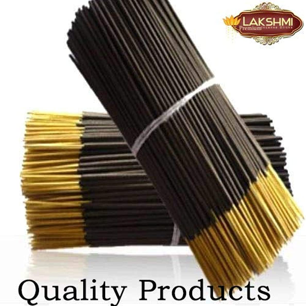 プリーツ予防接種粘着性Lakshmi Natural Products Raw Agarbatti Sticks 9