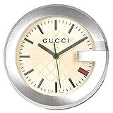Gucci GUCCI YC210005 グッチ テーブルウォッチ ステンレス×レザー 置時計 ベージュ×ブラウン×シルバー【並行輸入】