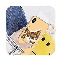 かわいい漫画恐竜Coqueシェル電話ケースIphone 8 7 6 6 sプラスX Xs最大5 5 s Se Xrカバー、iphone XまたはXs、A8