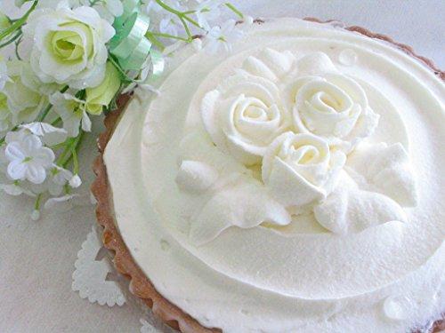 さわやか&濃厚 レアチーズ タルト ケーキ 直径約15センチ(5号サイズ)