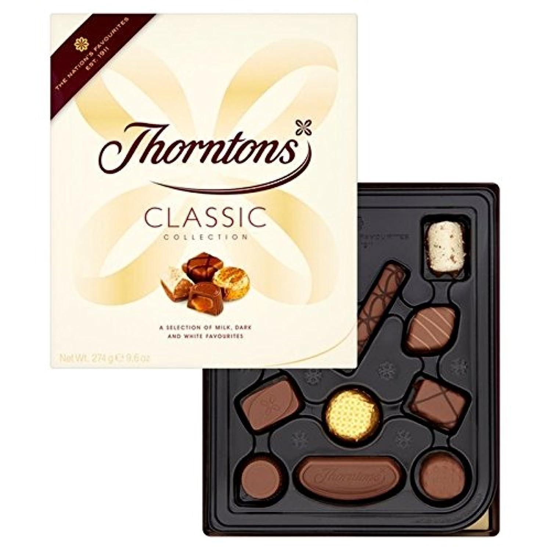 塩辛い息切れ含意ソーントンズ古典的なコレクション274グラム (x 2) - Thorntons Classic Collection 274g (Pack of 2) [並行輸入品]