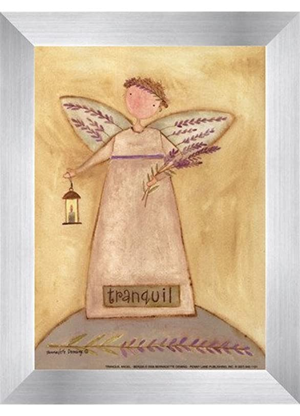 川食事を調理する偽物Tranquil Angel by Bernadette Deming – 5 x 7インチ – アートプリントポスター LE_613849-F9935-5x7