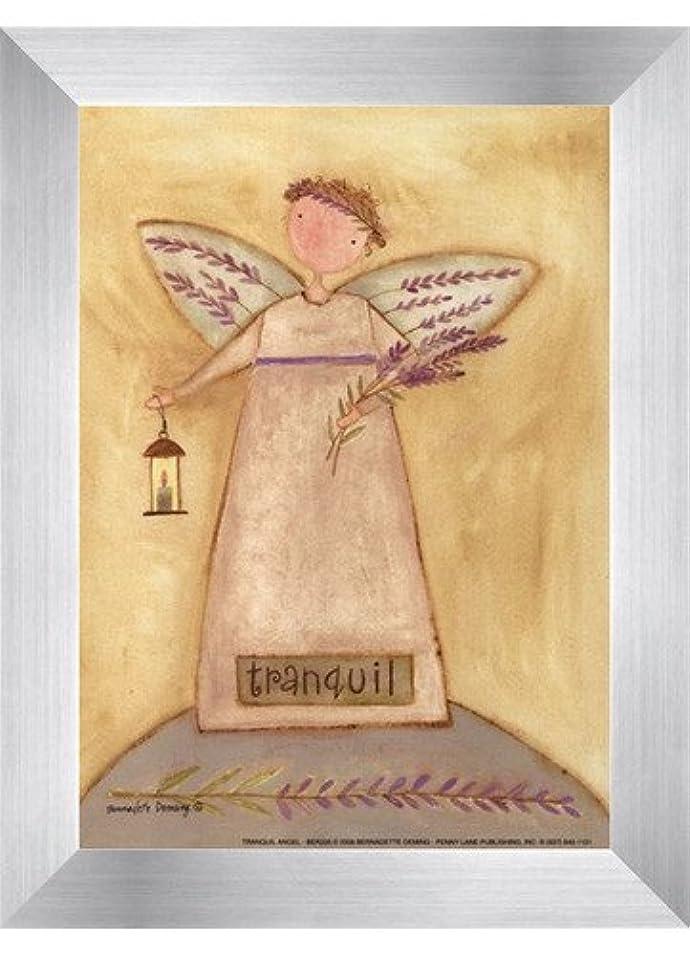 借りている有罪口述するTranquil Angel by Bernadette Deming – 5 x 7インチ – アートプリントポスター LE_613849-F9935-5x7