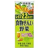 伊藤園 食物せんい野菜 200ml 紙パック96本入
