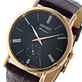 セイコー SEIKO プルミエ Premier クオーツ ユニセックス 腕時計 SRK040P1 ダークグレー[並行輸入品]