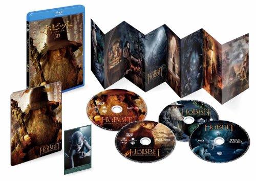 ホビット 思いがけない冒険 3D&2D (4枚組)(初回限定生産) [Blu-ray]の詳細を見る