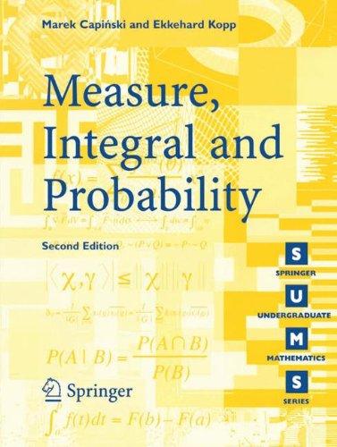 Measure, Integral and Probability (Springer Undergraduate Mathematics Series)の詳細を見る