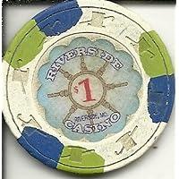 $ 1 RiversideカジノチップObsolete Riverside Missouri